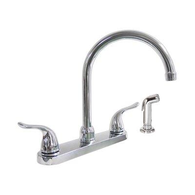 Double Handle Kitchen Faucet Finish: Chrome