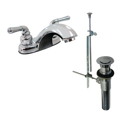 Bathroom Faucet with Drain Assembly Finish: Chrome