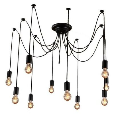 Edison 10 Light Cluster Pendant