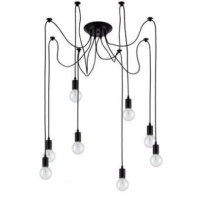 Edison 8 Light Cluster Pendant