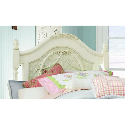 (headboards) Emma's Treasures Low Poster Headboard and Metal Frame with Casters