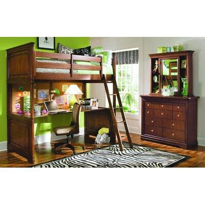 Metal Loft   Desk on Lea Elite Classics Study Loft Bed With Desk