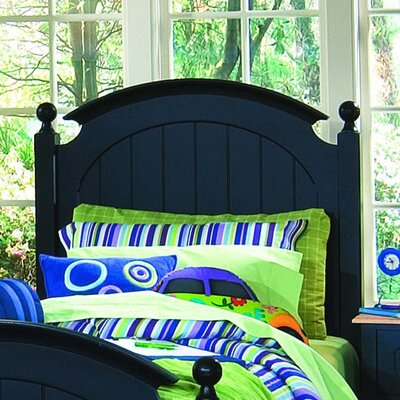 Image of My Style Panel Headboard and Metal Frame With Casters (LK2812)