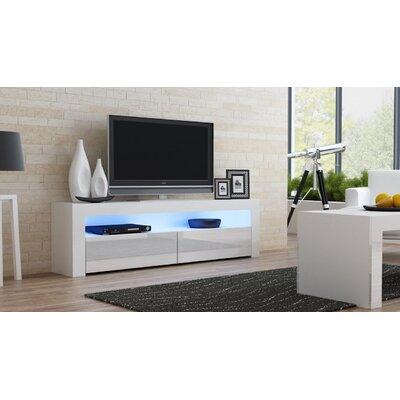 Ranallo Contemporary 65 TV Stand Color: White/White