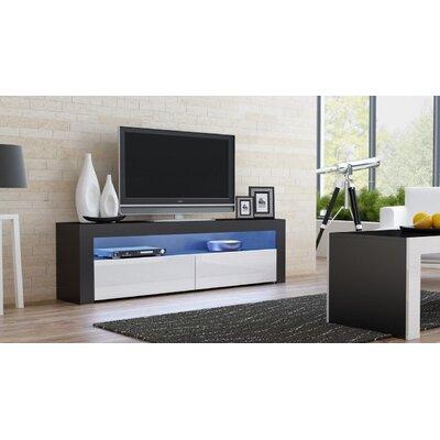 Ranallo Contemporary 65 TV Stand Color: White/Black