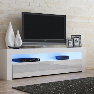 Ranallo Contemporary 65 TV Stand Color: White/White