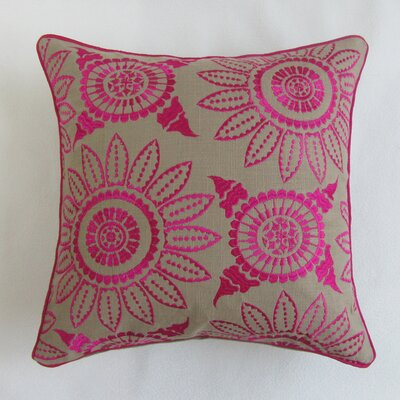Scalia Square Decorative 100% Cotton Pillow Cover
