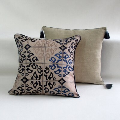 Mokszycki Square Decorative 100% Cotton Pillow Cover