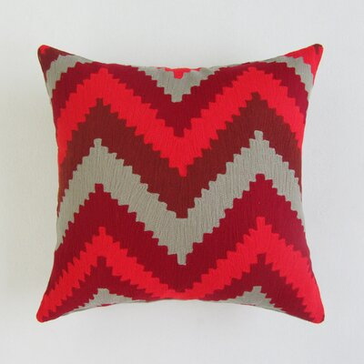 Banach Square Decorative 100% Cotton Pillow Cover