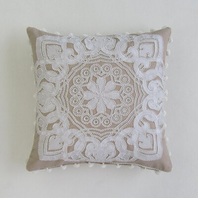 Keir Square Decorative 100% Cotton Pillow Cover