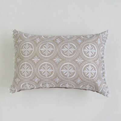 Kerric Boudoir Decorative 100% Cotton Pillow Cover