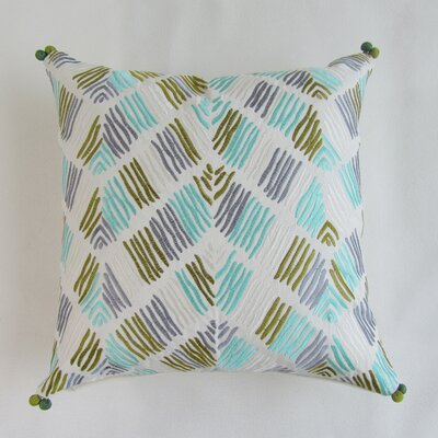 Polen Square Decorative 100% Cotton Pillow Cover