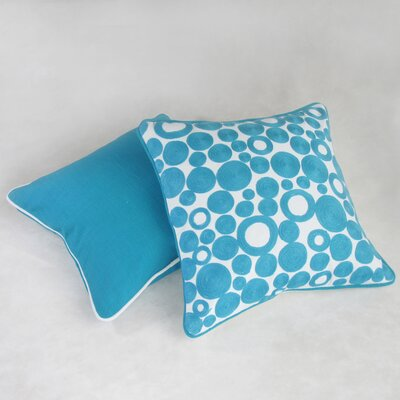 Ambriz Square Decorative 100% Cotton Pillow Cover