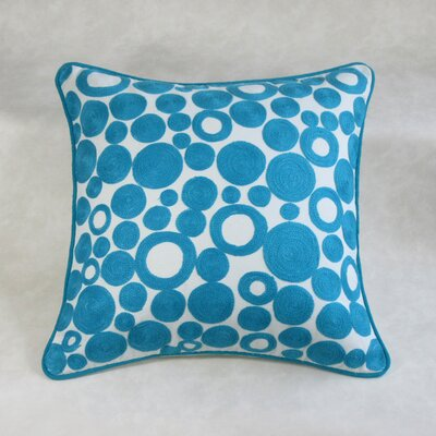 Amaratha Square Decorative 100% Cotton Pillow Cover