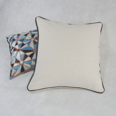 Vreeland Square Decorative 100% Cotton Pillow Cover