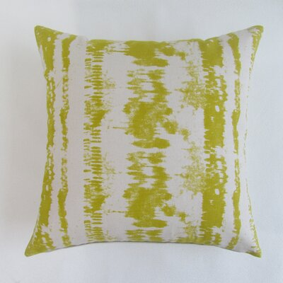 Baney Square Decorative 100% Cotton Pillow Cover Color: Olive