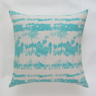 Baney Square Decorative 100% Cotton Pillow Cover Color: Teal