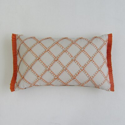 Amall Boudoir Decorative 100% Cotton Pillow Cover Color: Orange