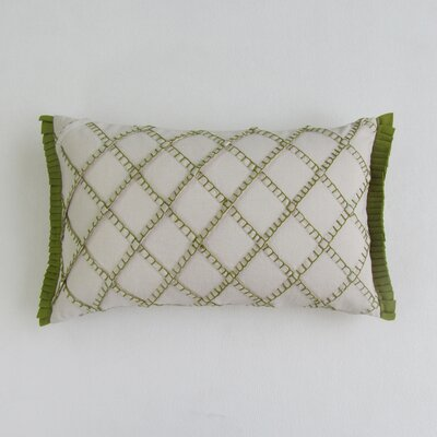 Amall Boudoir Decorative 100% Cotton Pillow Cover Color: Olive