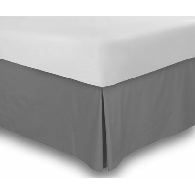 Hartsburg Bed Skirt Size: King, Color: Gray