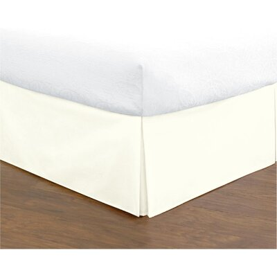 Hartsburg Bed Skirt Size: Full, Color: Vanilla