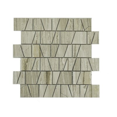 Arthur Marble Mosaic Tile in Taupe