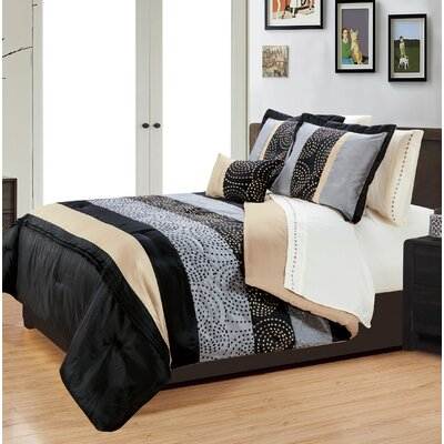 8 Piece Queen Bed in a Bag Set