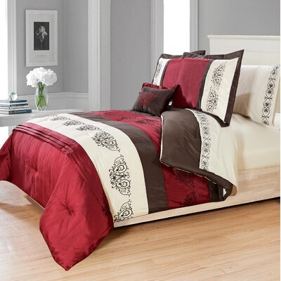Sofia 8 Piece Queen Bed in a Bag Set
