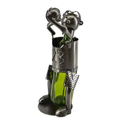 Jani Michael Jordan Basketball Player 1 Bottle Tabletop Wine Bottle Holder