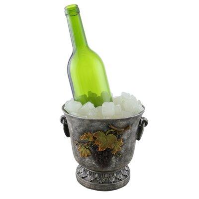 Juliana Ice Bucket 1 Bottle Tabletop Wine Rack
