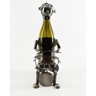 Drummer 1 Bottle Tabletop Wine Rack