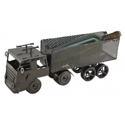 Dump Truck 1 Bottle Tabletop Wine Rack