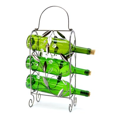 3 Bottle Tabletop Wine Rack