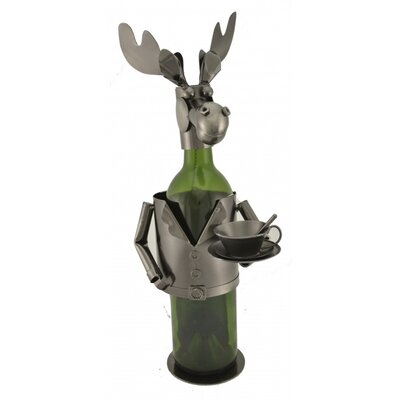 Moose Chef 1 Bottle Tabletop Wine Rack