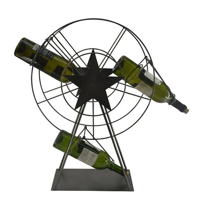 Ferris Wheel 1 Bottle Tabletop Wine Rack