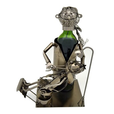 Lady Dentist 1 Bottle Tabletop Wine Rack