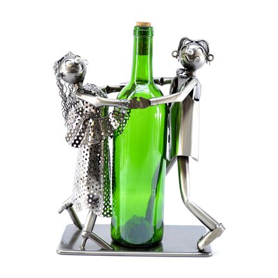 Tango Dancers 1 Bottle Tabletop Wine Rack