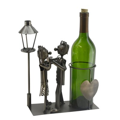 Lovers by Light Post 1 Bottle Tabletop Wine Rack