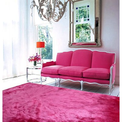 Mizzone Pink Indoor Area Rug