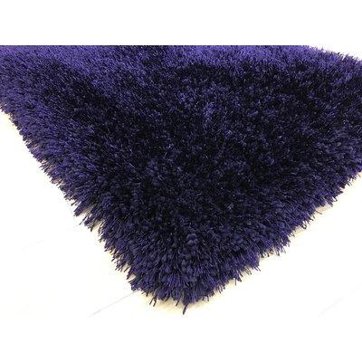 Port Pirie Shag Hand Tufted Purple Area Rug