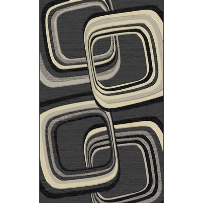 Snaresbrook Contemporary Gray Area Rug