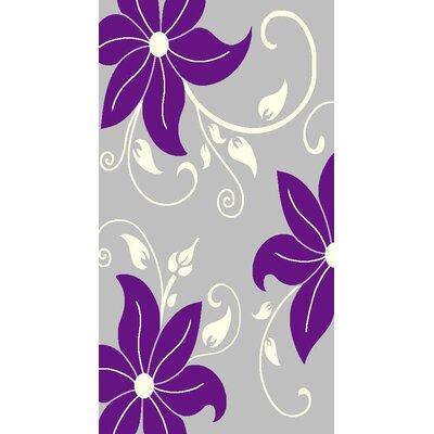 Hover Purple/Gray Area Rug