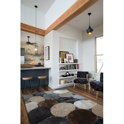 Rhynes Hand-Tufted Gray/Beige Area Rug