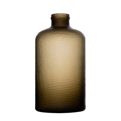Genest Handmade Cutting Glass Floor Vase