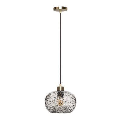 Cerna 1-Light Mini Pendant Shade Color: Clear