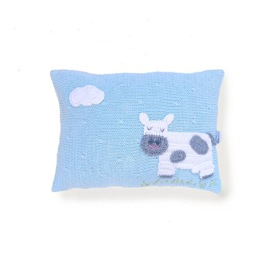 Shead Mini Cow 100% Cotton Throw Pillow