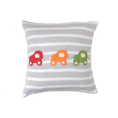 Shearin Car 100% Cotton Throw Pillow