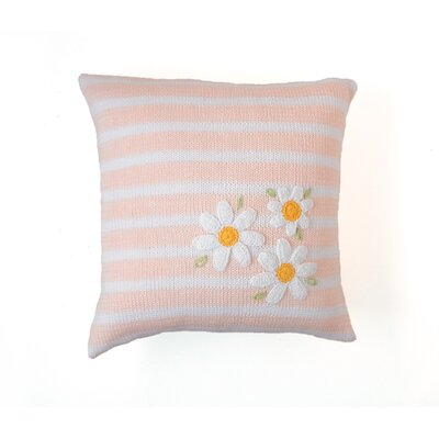 Shedd Baby Daisy 100% Cotton Throw Pillow
