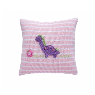 Stroup Dinosaur 100% Cotton Throw Pillow