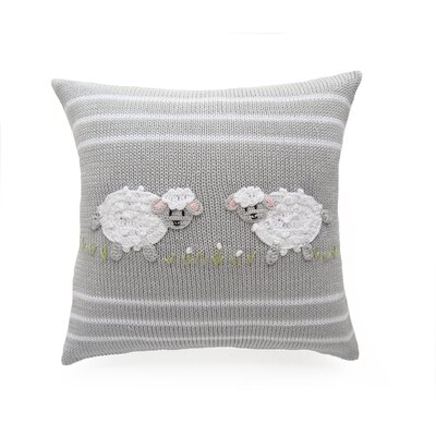 Wille Baby Sheep 100% Cotton Throw Pillow
